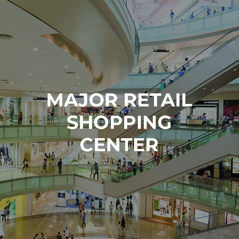 Major Retail Shopping Center